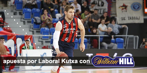 Registrate con William Hill y apuesta en los partidos de baloncesto