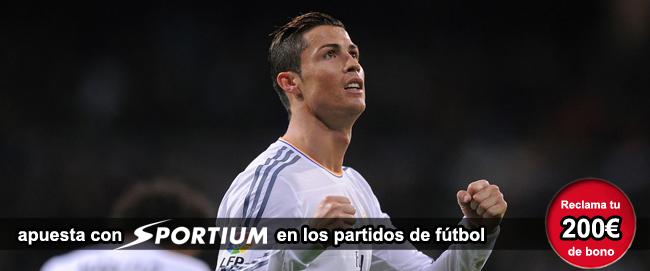 Sportium te da 200 euros como bono de bienvenida si te registras para apostar en los partidos de baloncesto