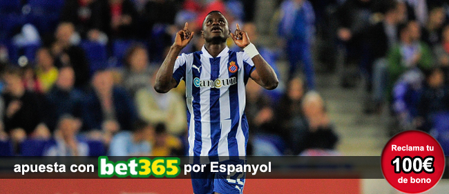 Apuesta con Bet365 en los partidos de la Liga BBVA y recibe 100 euros como bono de bienvenida