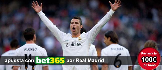 Descubre como apostar en los partidos de la Liga BBVA con Bet365 y ademas recibe 100 euros como bono de bienvenida