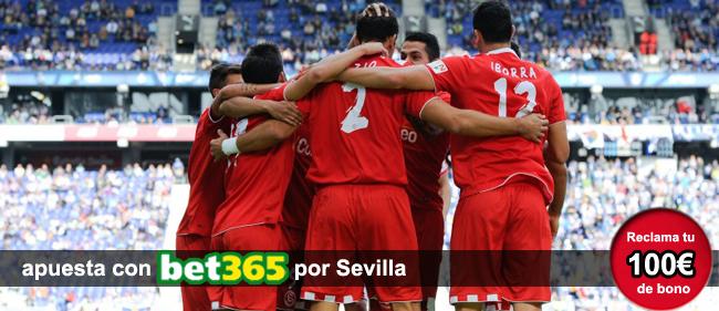 Registrate ahora con Bet365 y recibe 100 euros como bono de bienvenida para apostar en los partidos de la Liga BBVA