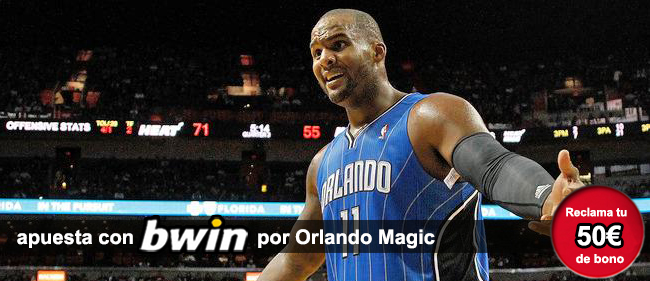 Bwin te da 50 euros como bono de bienvenida si te registras para apostar en los partidos de baloncesto de la NBA con Bwin