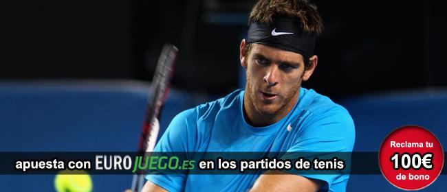 Registrate con Eurojuego y recibe tu bono de bienvenida para apostar en los partidos de tenis