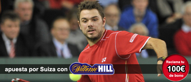Aprende apostar con William Hill por los favoritos de la Copa Davis