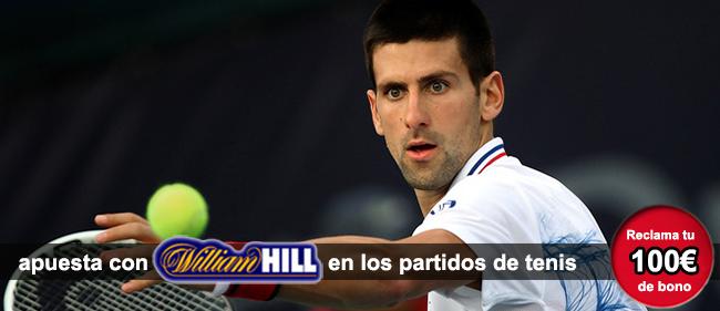 Como apostar con william hill en los partidos de tenis - Casa de apuestas william hill ...