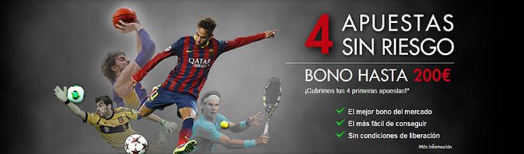 Registarte con Sportium y recibe el mejor bono de bienvenida para empezar apostar en tus deportes favoritos