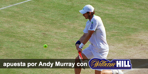 Aprende como aposatr con William Hill en el Wimbledon