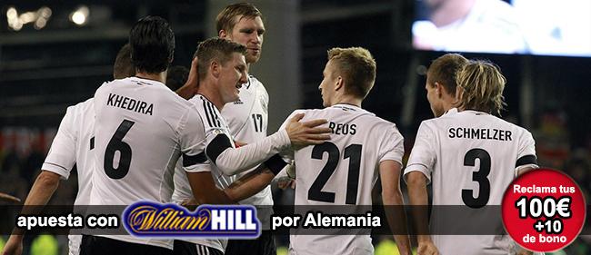 Descubre como apostar con William Hill en los partidos del Mundial de Brasil y recibe 100+10 euros como bono de bienvenida