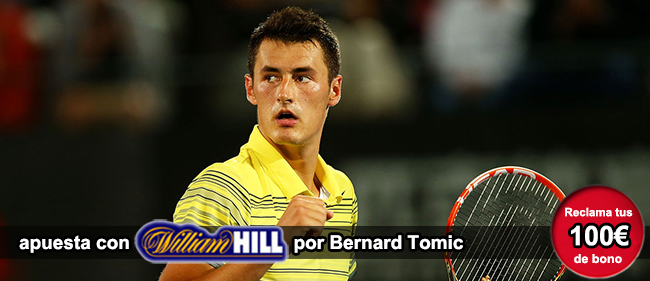 Recibe tu bono de 100 euros si te registras con William hill para apostar en el Claro Colombia Open