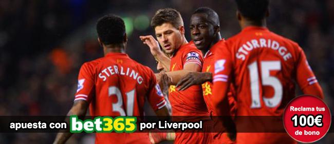 Apuesta con Bet365 en los partidos de futbol y recibe 100 euros como bono de bienvenida