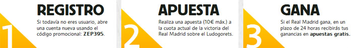 Registrate con Betfair y apuesta por la victoria de Real Madrid