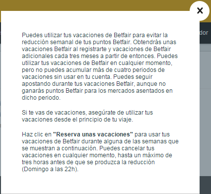 Registrate y apuesta con Betfair Exchange