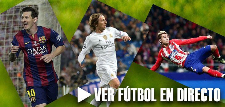 Ver fútbol en directo