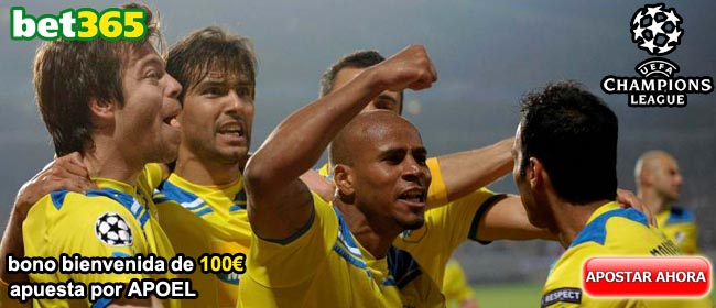Apoel Champions League 2012