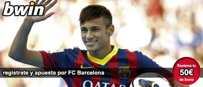 Registrate con Bwin y recibe tu bono de bienvenida para apostar por FC Barcelona