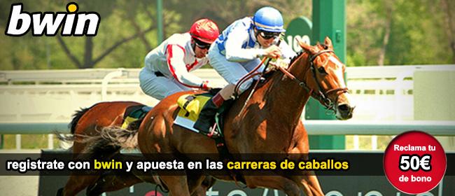 Apuesta con bwin en las carreras de caballos y recibe tu bono de bienvenida