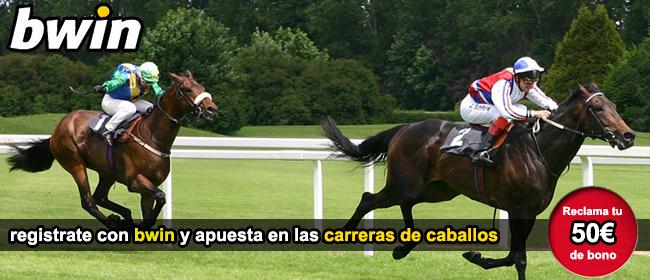 registrate con bwin y apuesta en las carreras de caballos