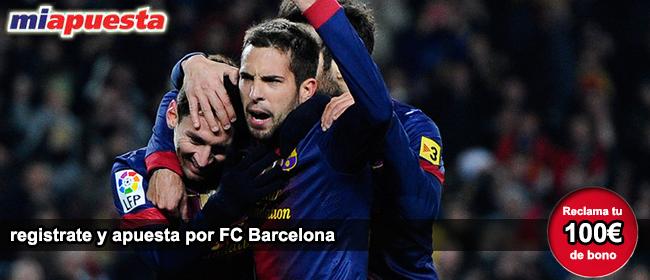 Registrate con miapuesta y apuesta en el partido FC Barcelona vs Real Mallorca