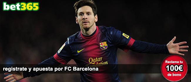 Registrate con Bet365 y apuesta en el partido de la Primera Division: FC Barcelona vs Levante UD