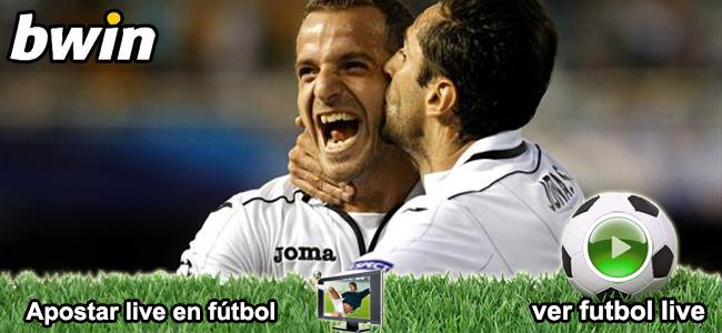 Apuesta con Bwin en el partido Getafe vs Valencia y recibe 50 euros como bono d bienvenida