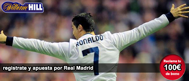 Registrate y apuesta con William Hill en el partido Borussia de Dortmund vs Real Madrid