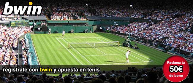Apuesta en los partidos de tenis y recibe el bono de bienevenida
