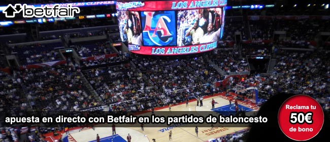 Betfair apuestas NBA