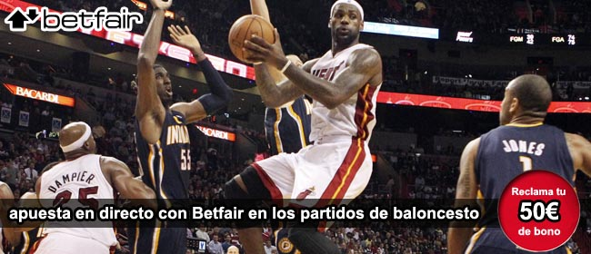 Apuestas NBA Betfair