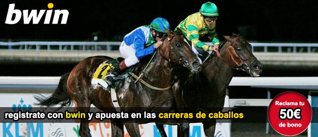 registrate y apuesta con bwin en las carreras de caballos