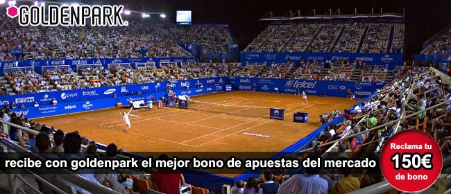 Apuestas tenis GoldenPark