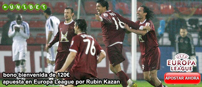 europa league rubin kazan