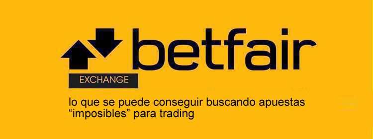 Empieza a apostar con Betfair Exchange