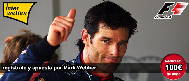 Apuestas con Interwetten en la carrera de formula 1 de Nürburg