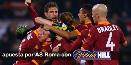 Registrate con William Hill y recibe tu bono de bienvenda para apostar en los partidos de la liga Italiana