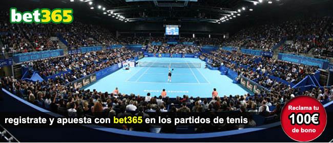apuesta en directo con bet365 en los partidos de tenis