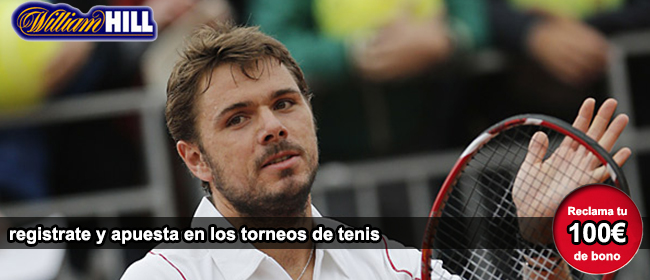 Aprende apostar con william Hill en los partidos de tenis
