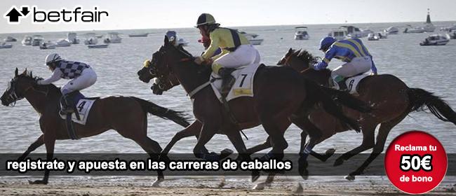 registrate con betfair y recibe tu bono de bienvenida para apostar en las carreras de caballos