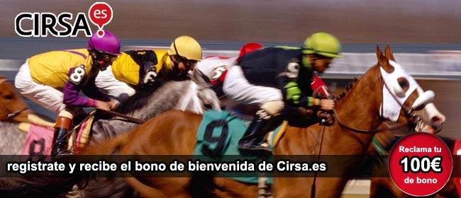 Bono bienvenida Cirsa caballos