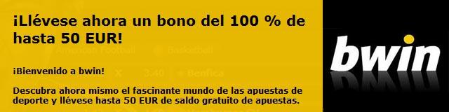 Bono bienvenida Bwin 50€