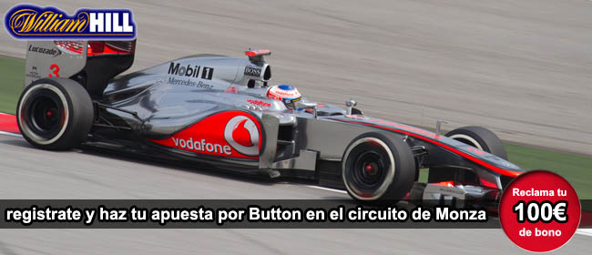 James Button Circuito Monza 2012