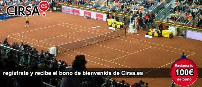 Bono bienvenida Cirsa Tenis