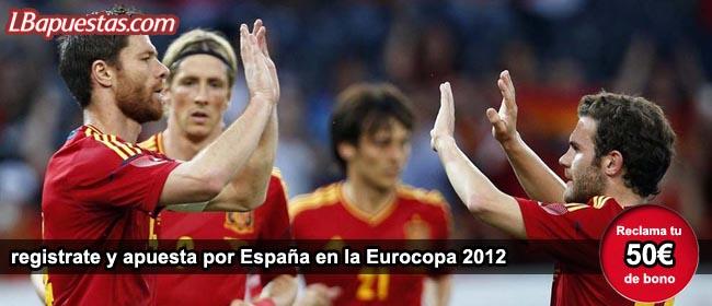 Apuestas Eurocopa 2012