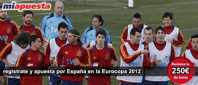 Apostar en partido España - Italia 2012