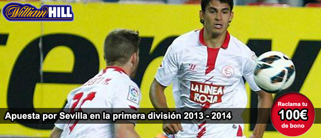 Apuesta por Sevilla con William Hill