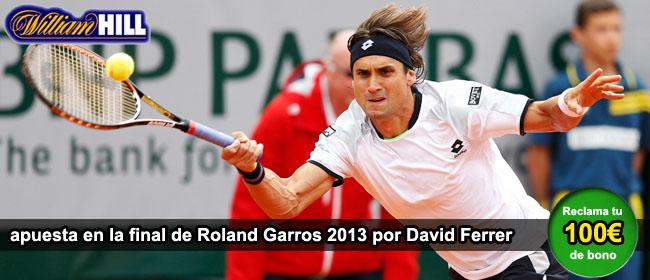 Apuesta por Ferrer en la final de Roland Garros
