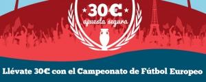 Registrate y apuesta con Paf en la Eurocopa