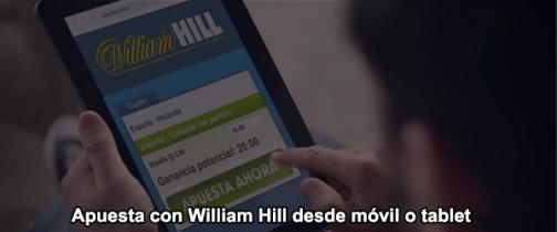 Apuesta con william hill desde m vil o tablet web apuestas - Casa de apuestas william hill ...