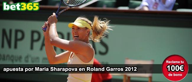 Apuestas Roland Garros Maria Sharapova