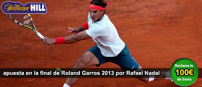 Apuesta por el ganador de la final de Roland Garros