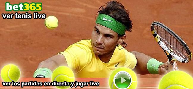 registrate y ver los partidos de tenis con bet365